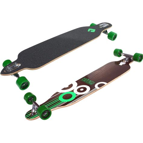 longboard drop deck atom drop through longboard 41 inch atom longboards