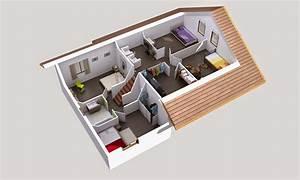maison demi niveau plan mq05 jornalagora With wonderful plan de maison 100m2 4 le plan du modale nebraska demi niveau mezzanine
