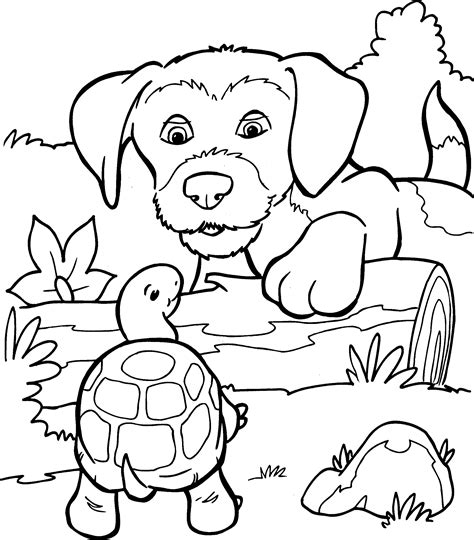 Diern Kleurplaten Printen by Kleurplaat Honden Kleurplaat 8892 Kleurplaten