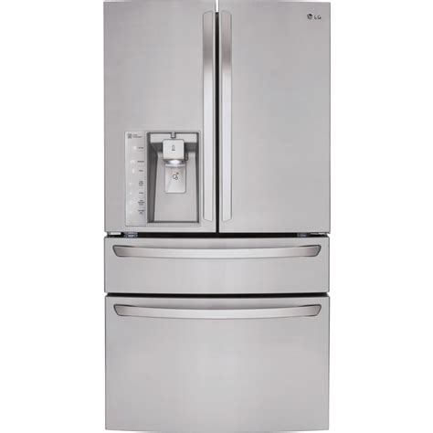 lmxss lg  cu ft french door refrigerator
