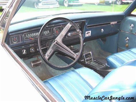 impala convertible interior