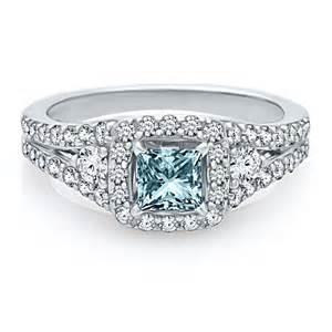 helzberg engagement rings helzberg symphonies 1 3 8 ct tw blue engagement ring in 14k gold wedding