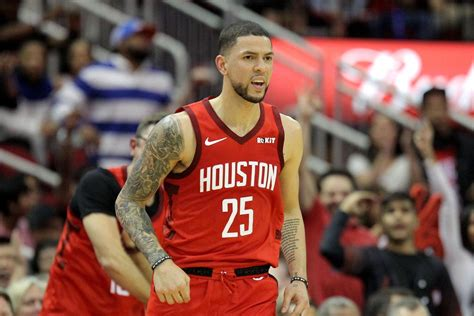He's played in 45 playoff games prior to this season, and it just worked out for him and us that he's here. the son of philadelphia 76ers coach doc rivers, austin. Austin Rivers was the perfect Christmas gift to the Rockets - The Dream Shake