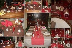 Idee Deco De Table Noel : id e d co table de noel 2011 ~ Zukunftsfamilie.com Idées de Décoration