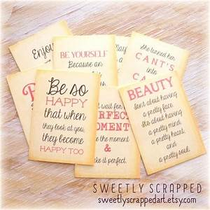 Items similar t... Pocket Letter Quotes