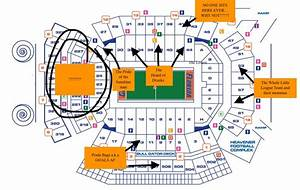 Penn State Student Section Seating Chart A Judgmental Seating Chart Of The Swamp