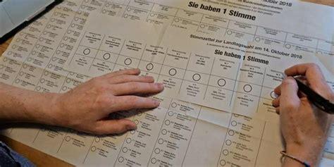 Erste hochrechnungen gehen von 35,5 bis 36,2 prozent für die partei von ministerpräsident rainer haseloff. Landtagswahl 2018 in Bayern: Wahllokale öffnen die Türen