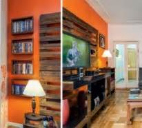 Wohnwand Aus Paletten : bauen mit paletten die originellen ideen kennen keine grenzen ~ Frokenaadalensverden.com Haus und Dekorationen