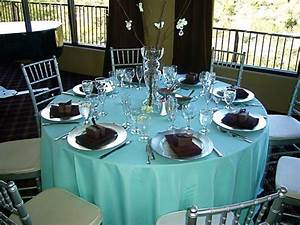 Chocolate Brown and Bright Teal Wedding Weddings, Style