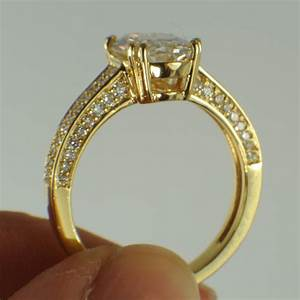 diamonds and rings create a unique engagement ring with a With big oval wedding rings