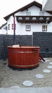 neu badezuber hot tubs badefasser badebottich With französischer balkon mit hot tub im garten