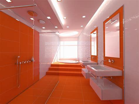 kombinasi warna orange  cat rumah  terlihat cantik