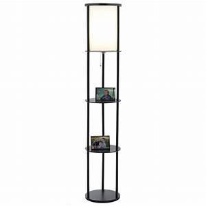 stewart round shelf floor lamp dcg stores With round shelf floor lamp