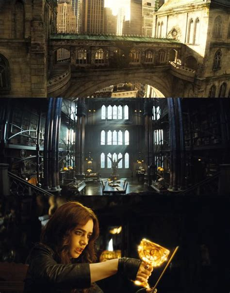 The New York Institute And The Mortal Cup, Tmi City Of