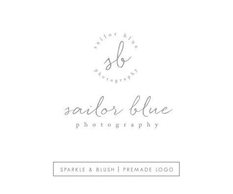 Premade Photography Blogger Logo Set