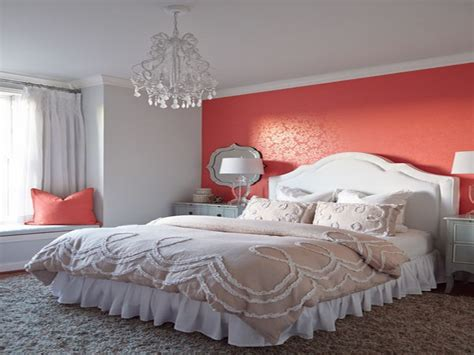 decorating bedroom walls coral  grey bedroom wall