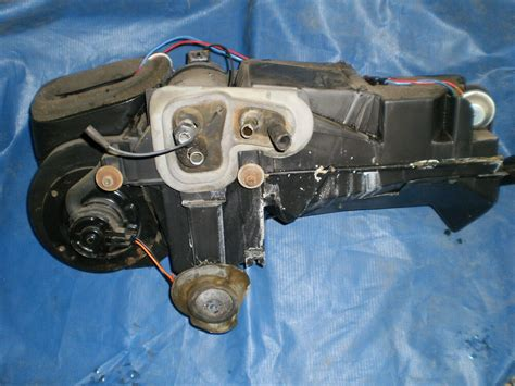 automobile air conditioning service 1986 ford laser windshield wipe control 1979 1986 ford mustang heater box air conditioning box a c heat hvac system oem ebay