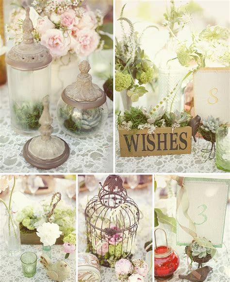 vintage shabby chic wedding decor crazy about weddings shabby chic wedding inspiration
