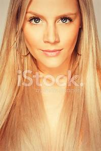 Potrait Beautiful Blonde Young Luxury Girl Stock Photos ...