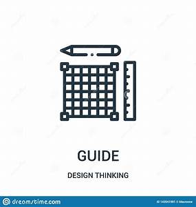 Guide Icon Vector From Design Thinking Collection  Thin