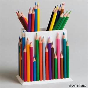 Pot A Crayon : customiser des pots crayons en bois pour la f te des p res id es et conseils f te des p res ~ Teatrodelosmanantiales.com Idées de Décoration