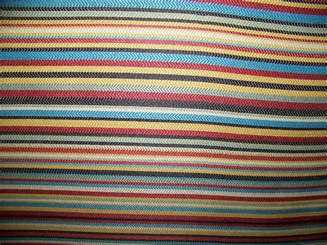 Wide Upholstery Fabric by 54 Quot Wide Multi Colored Stripe Upholstery Drapery Fabric Ebay
