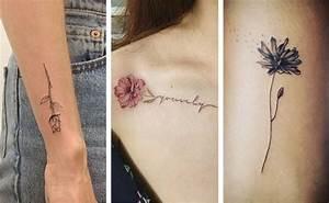 Tattoo Fleur De Cerisier : 15 id es de tatouage fleurs ~ Melissatoandfro.com Idées de Décoration