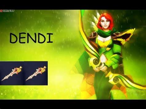 dota  dendi plays windrunner  divine rapier pub gameplay youtube