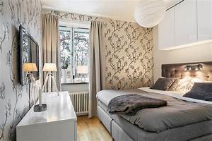 Kleines Zimmer Einrichten : kleines schlafzimmer einrichten 25 ideen f r raumplanung ~ Sanjose-hotels-ca.com Haus und Dekorationen
