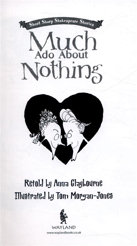 much ado about nothing modern text much ado about nothing by claybourne 9780750291149 brownsbfs