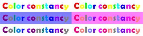 color constancy color constancy 6