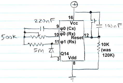 Manual Reset Problem Timer Circuit Electrical