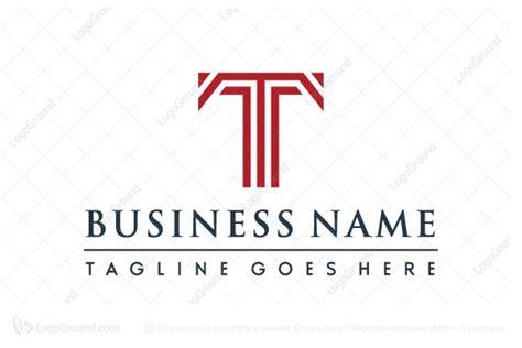 Corporate Letter T Logo