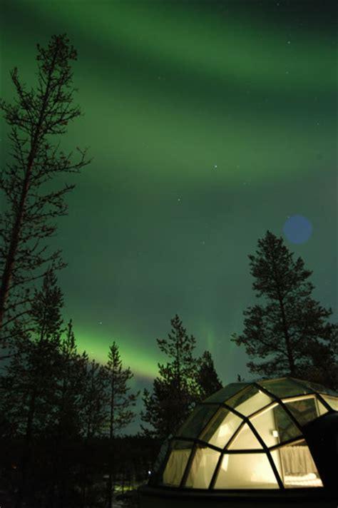 northern lights igloo sleep the northern lights in a glass igloo in
