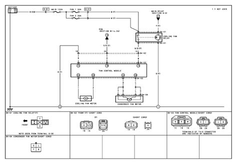 repair guides engine cooling 2004 condenser fan system cooling fan system wiring diagram