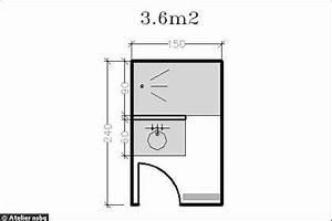 Plan Petite Salle De Bain Avec Wc : am nagement petite salle de bains 28 plans pour une ~ Melissatoandfro.com Idées de Décoration
