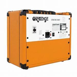 Ampli Wifi Orange : crush orange combo amp per chitarra 20rt gear4music ~ Melissatoandfro.com Idées de Décoration
