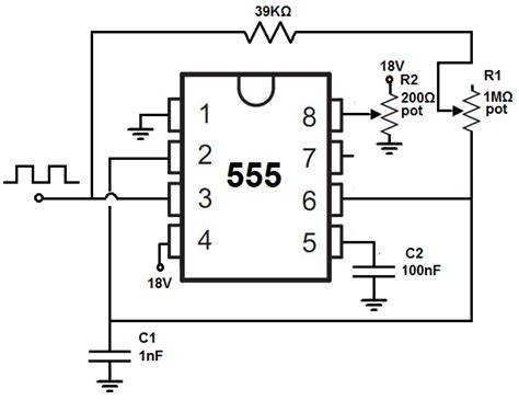 How Build Adjustable Square Wave Generator Circuit