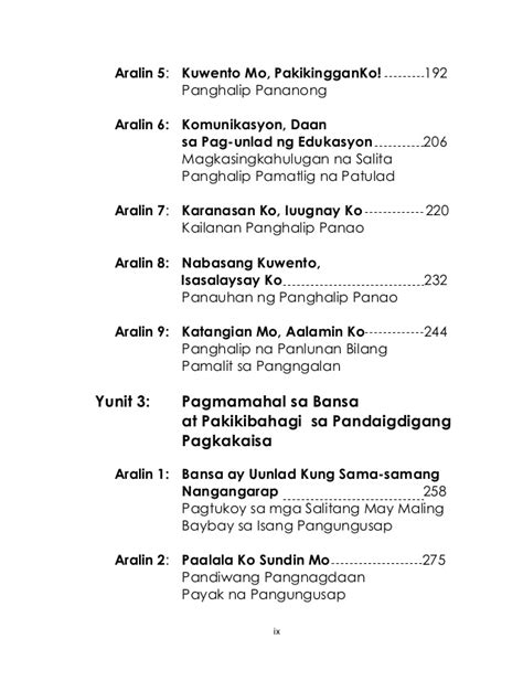 k to 12 grade 2 lm