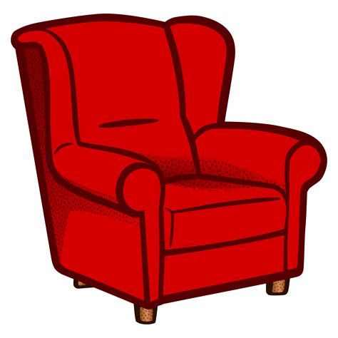 Chair Clipart Armchair  Pencil And In Color Chair Clipart