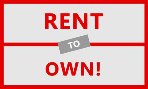 How Does Rent To Own Work?  Rent To Own Real Estate