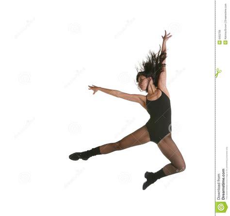 modern jazz dancer jumping royalty free stock image image 6452756