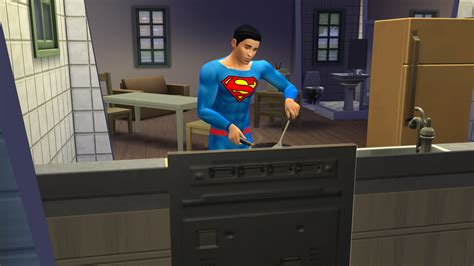 Sims 4 Superman Outfit