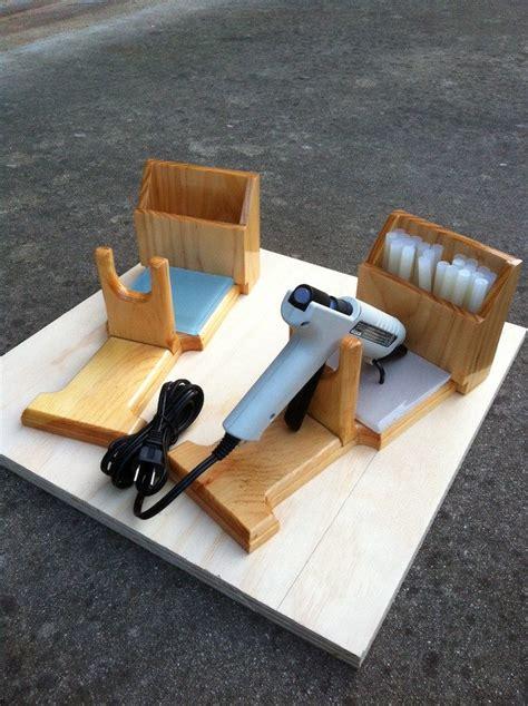 diy glue gun holder craft projects