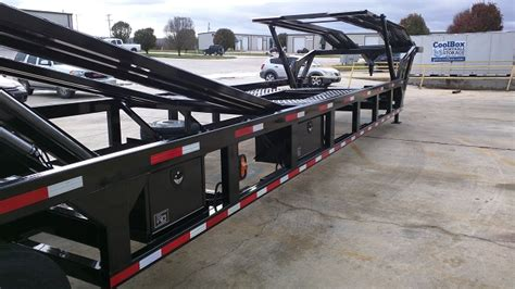 Gooseneck, 4 Car Hauler Trailers By Infinity Trailers