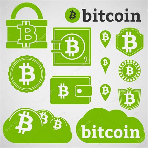 B Bitcoin by Bitcoin Currency Icons Set Stock Vector 169 Ikonstudios