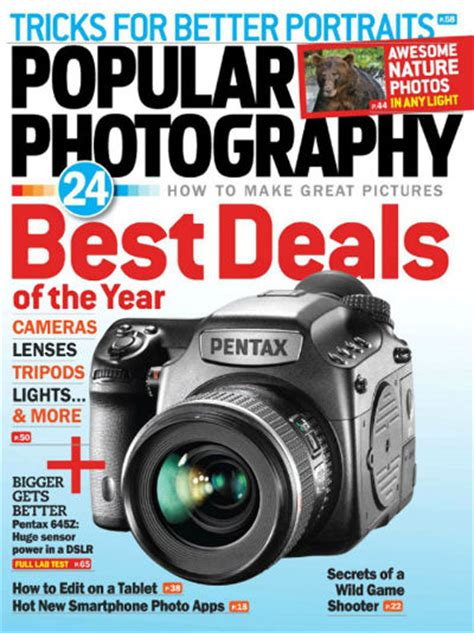 Popular Photography Magazine 80% Discount On Subscription