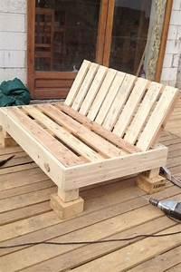 Fabriquer Un Fauteuil : atelier bricolage fabriquer un fauteuil avec une palette ~ Zukunftsfamilie.com Idées de Décoration