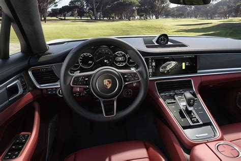 Request a dealer quote or view used cars at msn autos. 2018 Porsche Panamera Sport Turismo interior | AUTOBICS