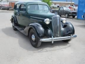 1936 Chevy Master 4 Door Sedan All Original For Sale